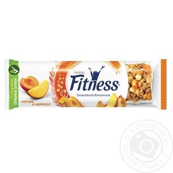 Злаковий батончик Fitness з персиком і абрикосом 23,5г - купити, ціни на МегаМаркет - фото 1