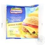 Сыр плавленый Hochland Чеддер ломтиками 130г - купить, цены на МегаМаркет - фото 1