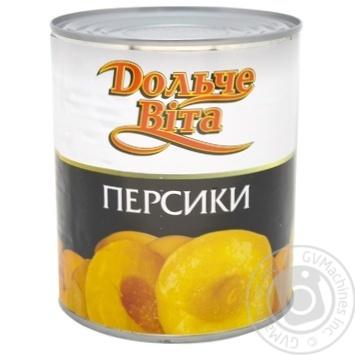 Peache halves Dolce Vita 820g Greece - buy, prices for Novus - image 1