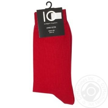 Носки мужские IO р.41-46 красный