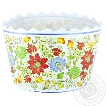 Форма Креатив-Принт для випічки куліча 110мм - купити, ціни на Фуршет - фото 3