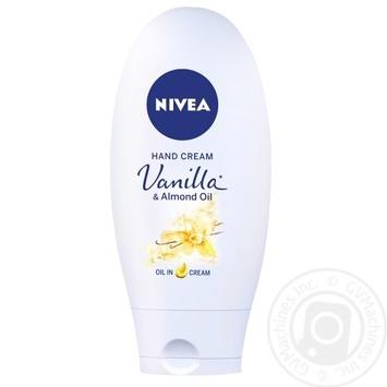 Крем для рук Nivea с ванилью 75мл - купить, цены на Novus - фото 3