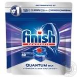 Таблетки для посудомоечных машин Finish Quantum Max 40шт
