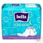 Прокладки гигиенические Bella Ideale Ultra Night Staysofti 7шт.