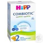 Детская сухая молочная смесь HiPP Combiotiс №2 с 6 месяцев 300г