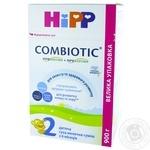 Дитяча суха молочна суміш HiPP Combiotiс №2 з 6 місяців 900г
