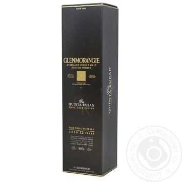 Виски Glenmorangie Quinta 12 лет 46% 0,7л - купить, цены на Novus - фото 1