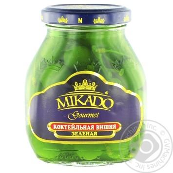Mikado Green Cherry for Cocktail 314ml