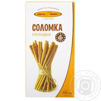 Соломка Київхліб солодка 200г - купити, ціни на Метро - фото 1