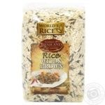 World's Rice long grain brown and wild groats rice 500g - buy, prices for Novus - image 1