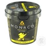 Морозиво Три ведмеді Monaco Dessert зі смаком ванілі 70г