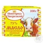 Масло солодковершкове 73% Новгород-Сіверськ 200г