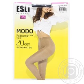 Колготки жіночі Esli E Modo 20 ден р.2 nero - купити, ціни на CітіМаркет - фото 1