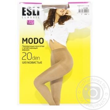 Esli E Modo Women's Tights 20 den s.2 visone - buy, prices for CityMarket - photo 1