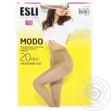 Esli E Modo Women's Tights 20 den s.4 melone - buy, prices for CityMarket - photo 1