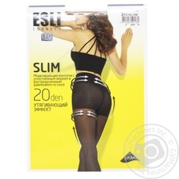 Колготки женские Esli E Slim 20 ден р.2 melone - купить, цены на СитиМаркет - фото 1