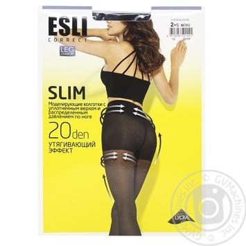 Колготки жіночі Esli E Slim 20 ден р.2 nero - купити, ціни на CітіМаркет - фото 1