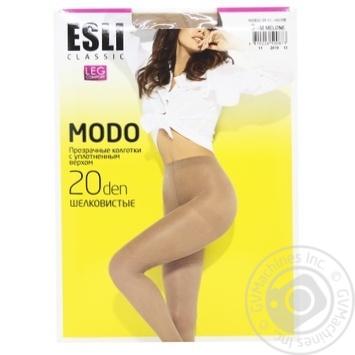 Колготки жіночі Esli E Modo 20 ден р.3 melone - купити, ціни на CітіМаркет - фото 1