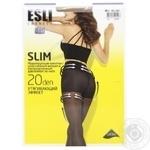 Колготки жіночі Esli E Slim 20 ден р.4 melone