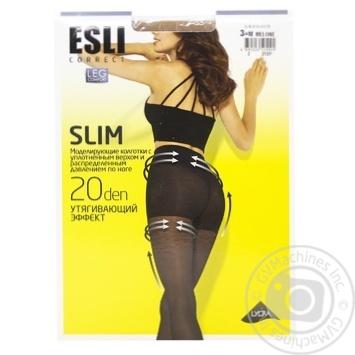 Колготки жіночі Esli E Slim 20 ден р.3 melone - купити, ціни на CітіМаркет - фото 1