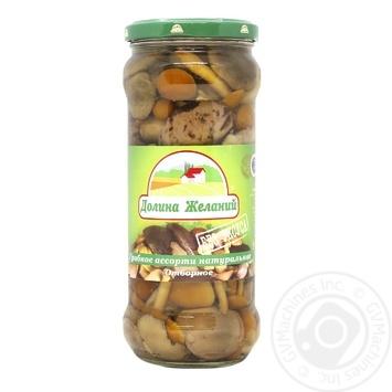 Dolina Zhelaniy Natural Assorted Mushroom 580ml - buy, prices for Auchan - photo 1