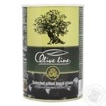 olive Olive line black pitted 420g can