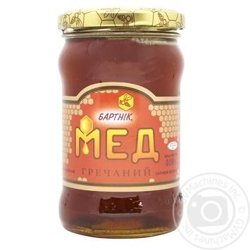 Мед цветочный гречневый 400г Бартник - купить, цены на Novus - фото 1