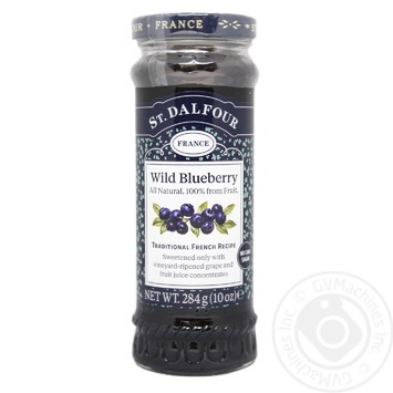 St.Dalfour Wild Blueberry Jam 284g - buy, prices for MegaMarket - image 1