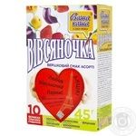 Oatmeal porridge Vasha Kasha Ovsyanochka mix with cream 10x45g
