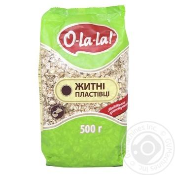 Пластівці O-La-La житні миттєвого приготування 500г