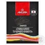 Akura Mix of White and Black Sesame 50g - buy, prices for MegaMarket - image 1