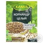 Приправа Kamis Коріандр цілий 15г - купити, ціни на МегаМаркет - фото 1