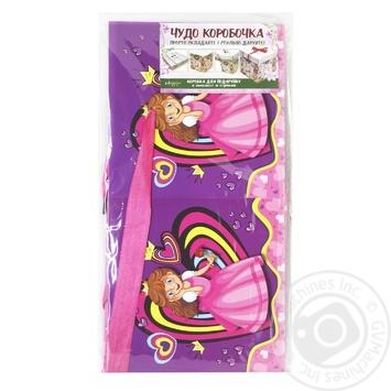 Коробка для подарков Happycom 15х15х15см в ассортименте - купить, цены на Таврия В - фото 3