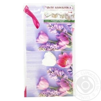 Коробка для подарков Happycom 15х15х15см в ассортименте - купить, цены на Таврия В - фото 5