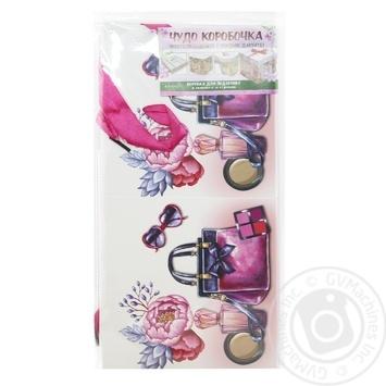 Коробка для подарков Happycom 15х15х15см в ассортименте - купить, цены на Таврия В - фото 7