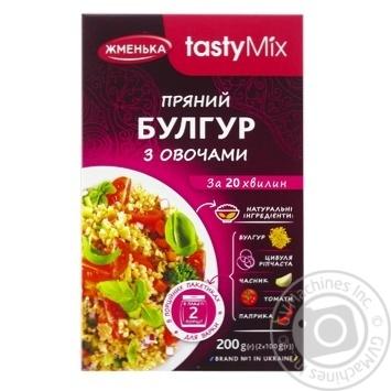 Zhmenka Bulgur with Vegetables 200g - buy, prices for CityMarket - photo 1