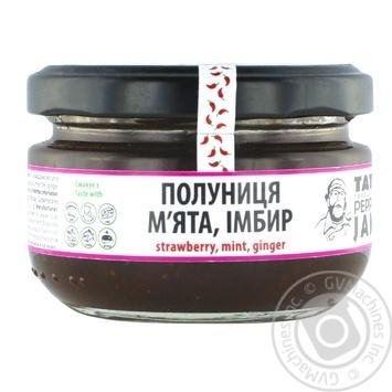 Джем Tato Pepper Jam клуника, мята, имбирь 130г - купить, цены на Novus - фото 1