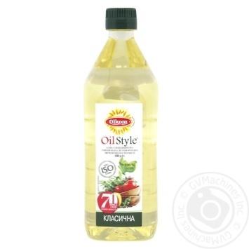 Масло Олком подсолнечное рафинированное 0.75л - купить, цены на Novus - фото 1