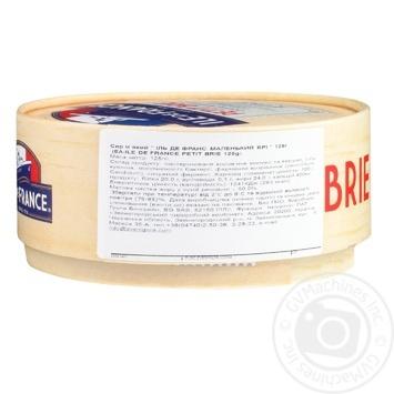 Ile de France petit soft cheese brie 50% 125g - buy, prices for Furshet - image 2