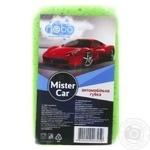 Губка автомобильная Nebolight Mister Car в ассортименте - купить, цены на МегаМаркет - фото 1