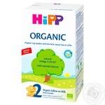 Смесь молочная Hipp Organic 2 для детей с 6 месяцев сухая 300г