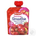 Puree Semper strawberry for children from 6 months 90g doypack