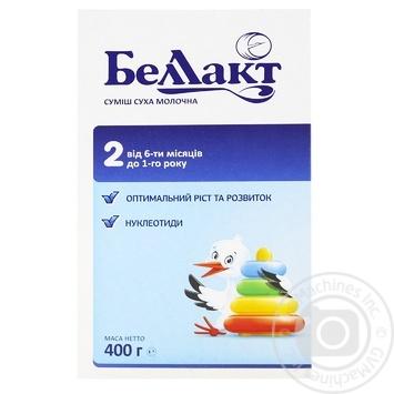 Dry milk formula Bellakt 2 for 6+month babies 400g - buy, prices for EKO Market - photo 1