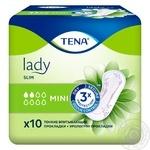 Прокладки урологические женские Tena Lady Slim Mini 10шт