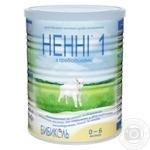 Молочна суміш Ненні 1 суха з пребіотиками 0-6 місяців 400г