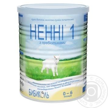 Молочна суміш Ненні 1 суха з пребіотиками 0-6 місяців 400г - купити, ціни на Фуршет - фото 1