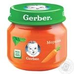 Gerber carrot puree 80g