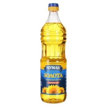 Chumak Gold Refined Sunflower Oil 0.82l - buy, prices for MegaMarket - image 1