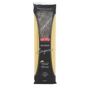 Макарони Щедро Лінгвіні 400г - купити, ціни на МегаМаркет - фото 1
