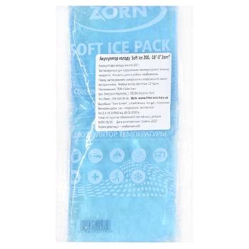 Акумулятор холоду Zorn Soft Ice 200г - купити, ціни на CітіМаркет - фото 1